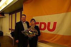 Dennis Gladiator und Dr. Herlind Gundelach