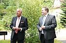 Kulturstaatsminister Bernd Neumann MdB und Dennis Gladiator MdHB
