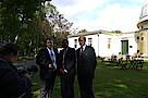 Dennis Gladiator MdHB, Staatsminister Bernd Neumann MdB, Generalkonsul Fernández Salorio
