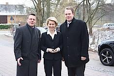 Bundesministerin Ursula von der Leyen in Bergedorf