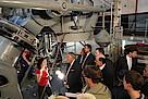 Besuch der Sternwarte mit Staatsminister Bernd Neumann und Generalkonsul Fernández Salorio am 16. August 2012
