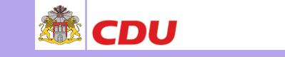 Christlich Demokratische Union Deutschlands - CDU-Bergedorf: Dennis Gladiator MdHB